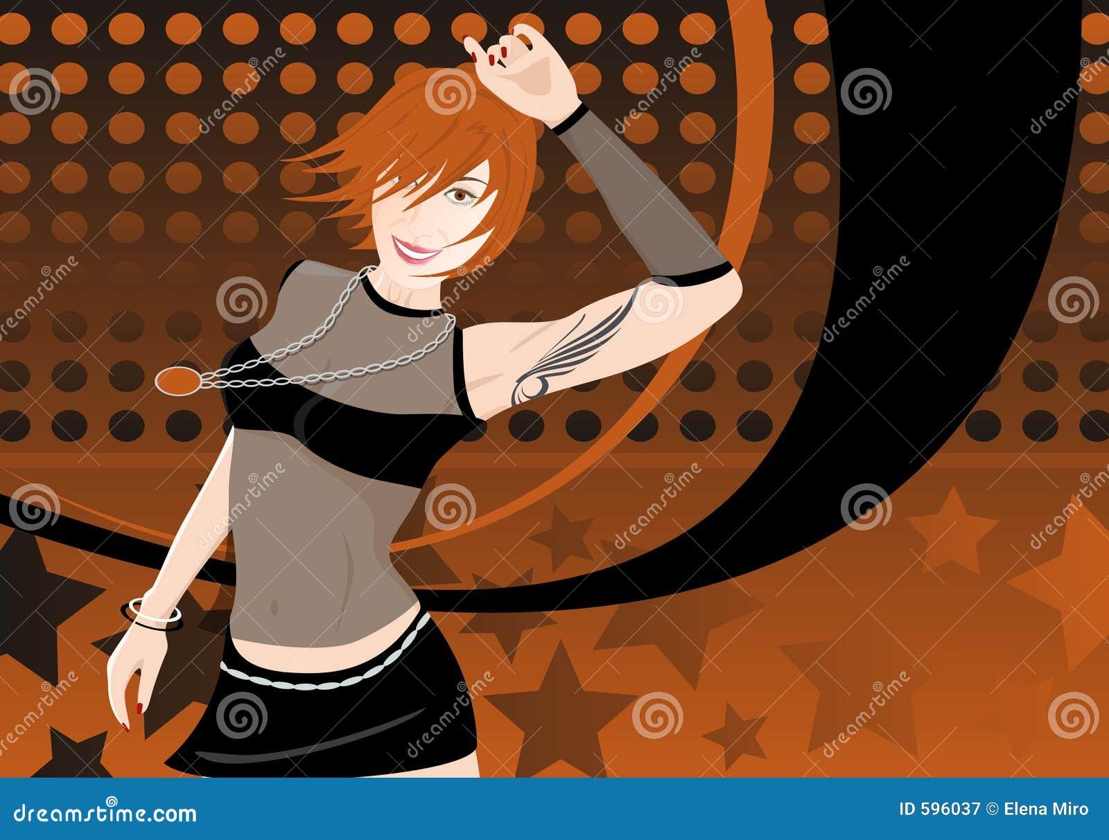Dancing Girl2