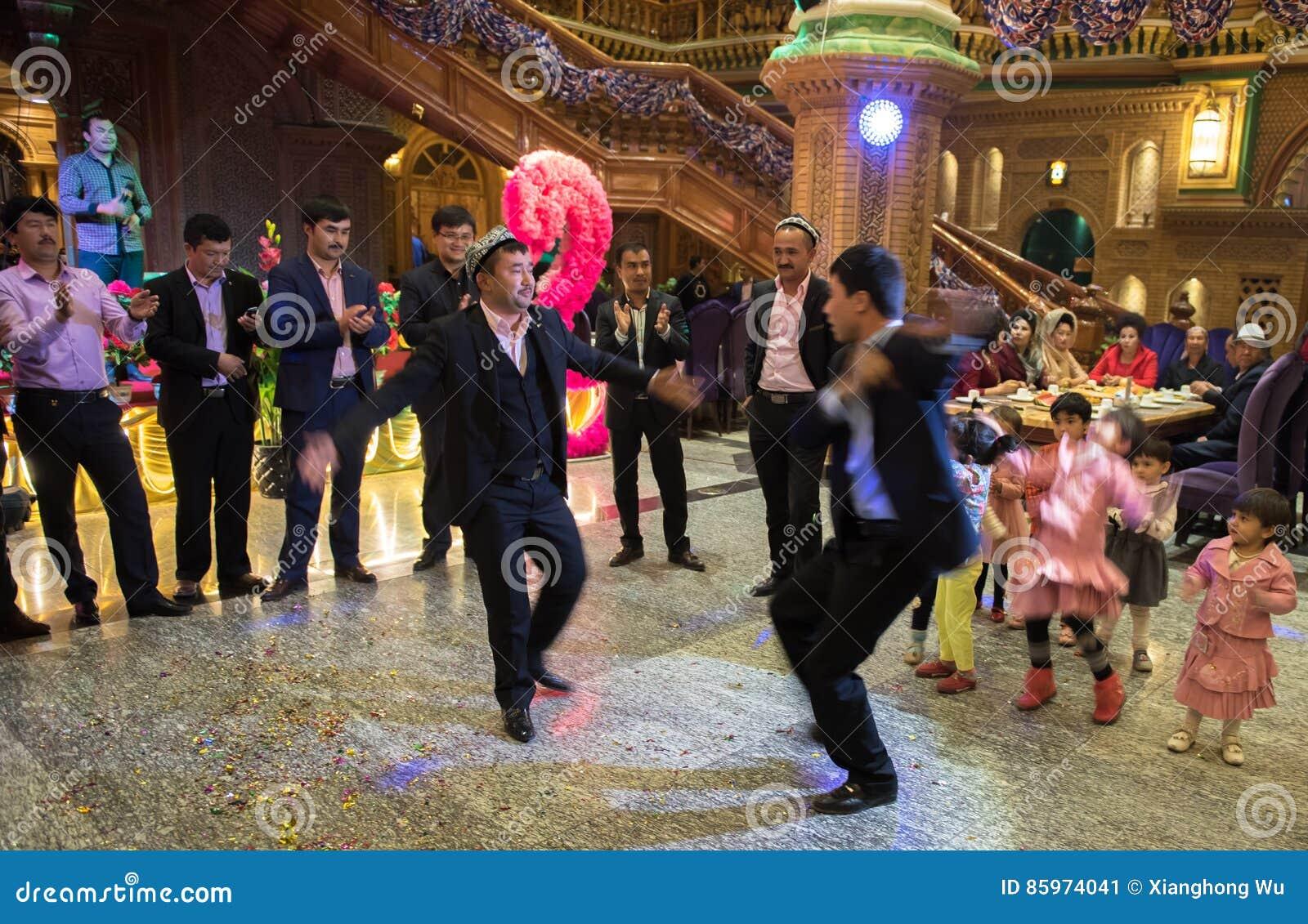 Dancing in Wedding Ceremony