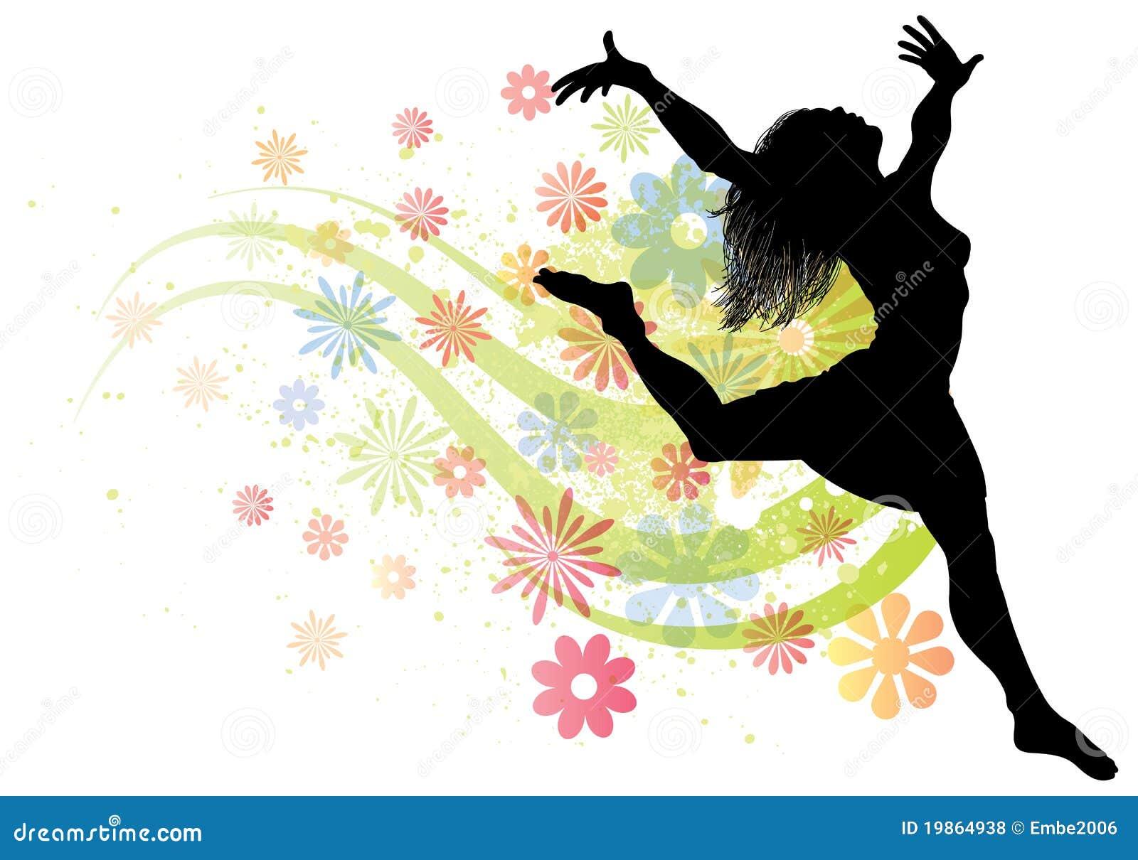 dancing woman royalty free stock photos   image 19864938