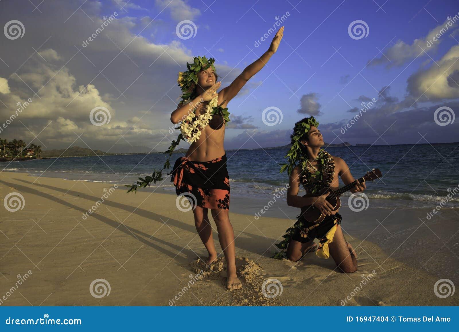 Dancingowy pary hula