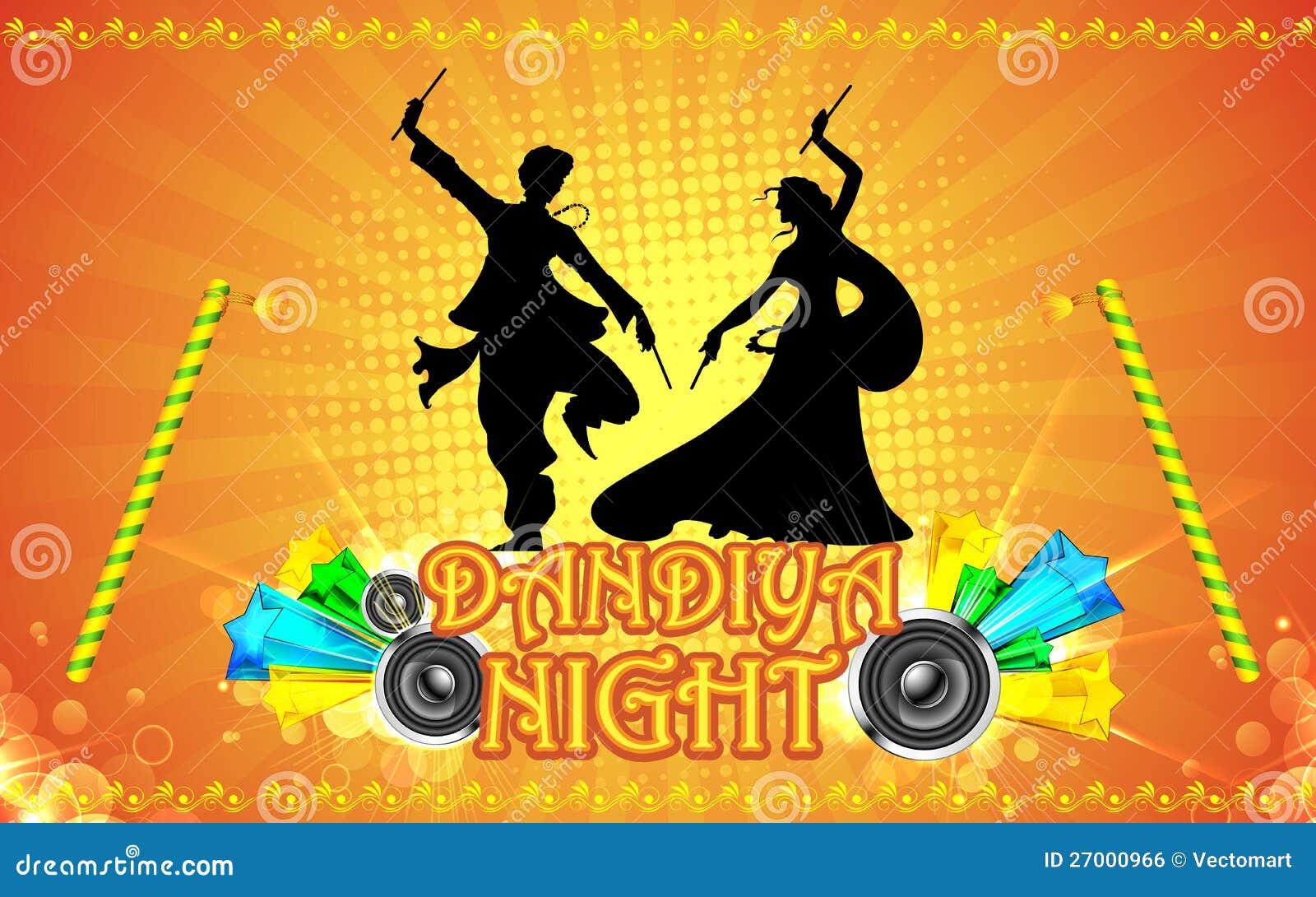 Dandiya Night Royalty Free Stock Image Image 27000966