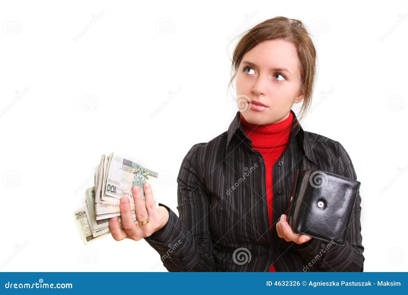 Dando o dinheiro