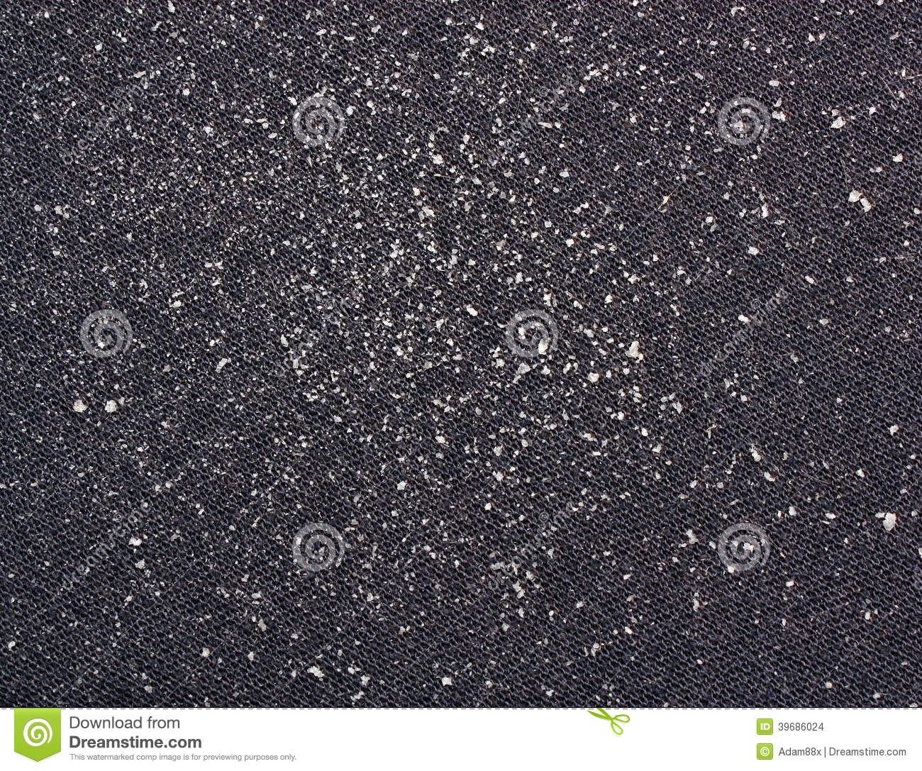 Dandruff Stock Photo - Image: 39686024
