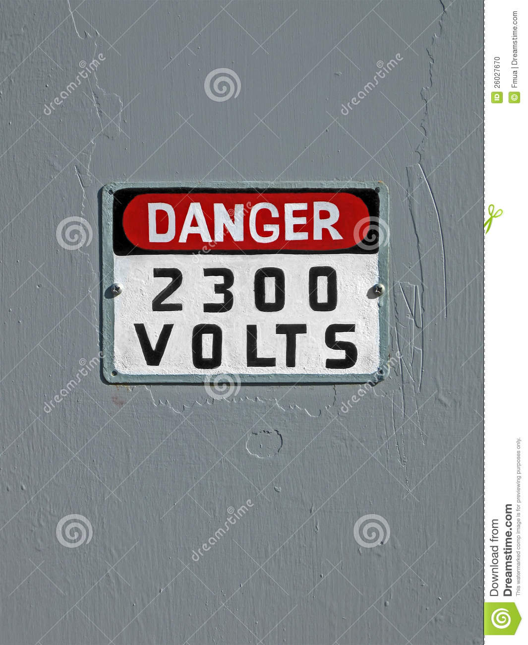 how to make 3d letters danger 2300 volt text on vintage wall stock photo 2300