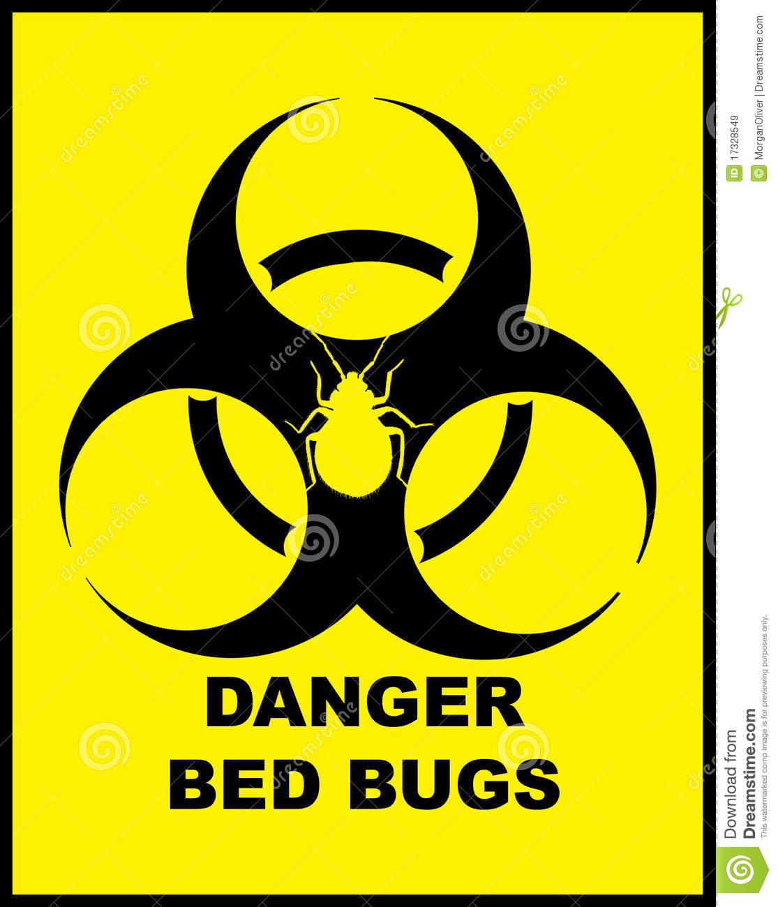 Danger BedBugs Hazard ...
