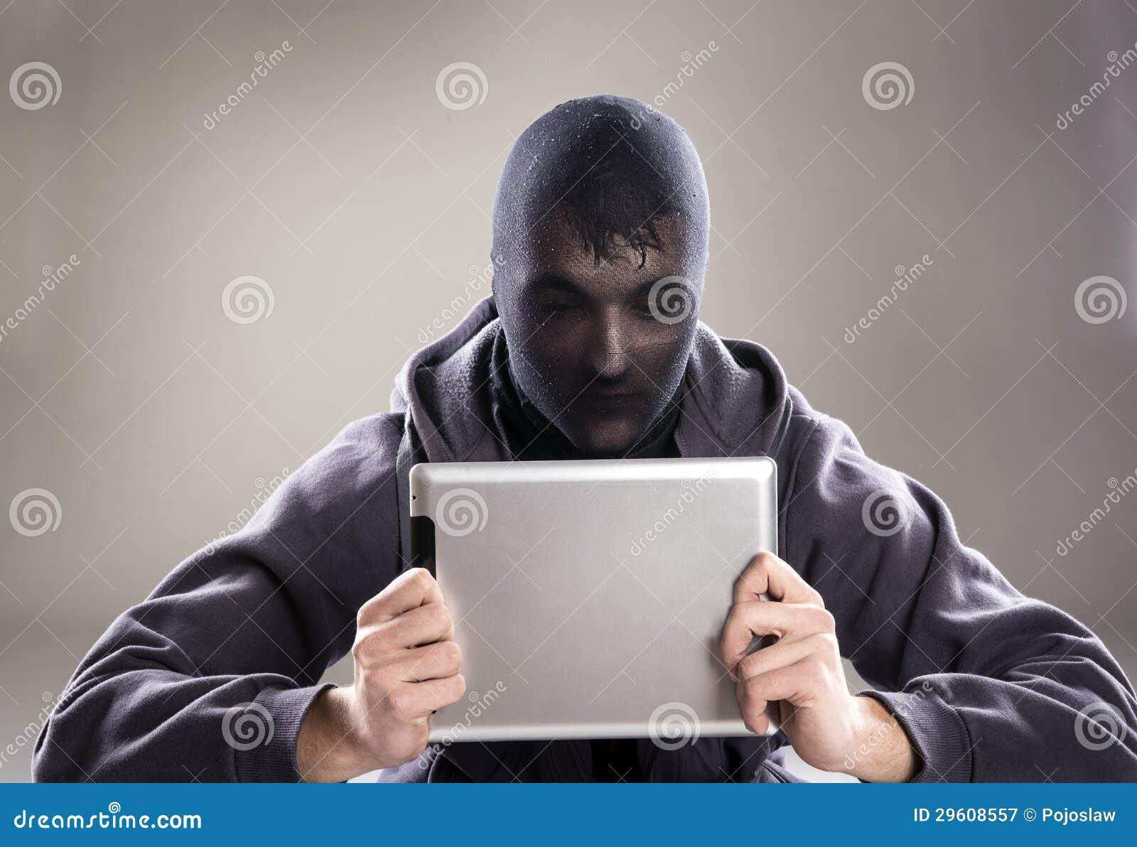danger d 39 internet image stock image du fonc main noir 29608557. Black Bedroom Furniture Sets. Home Design Ideas