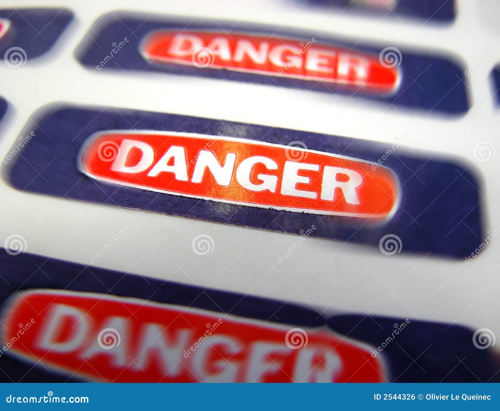 Danger Warning Room Light