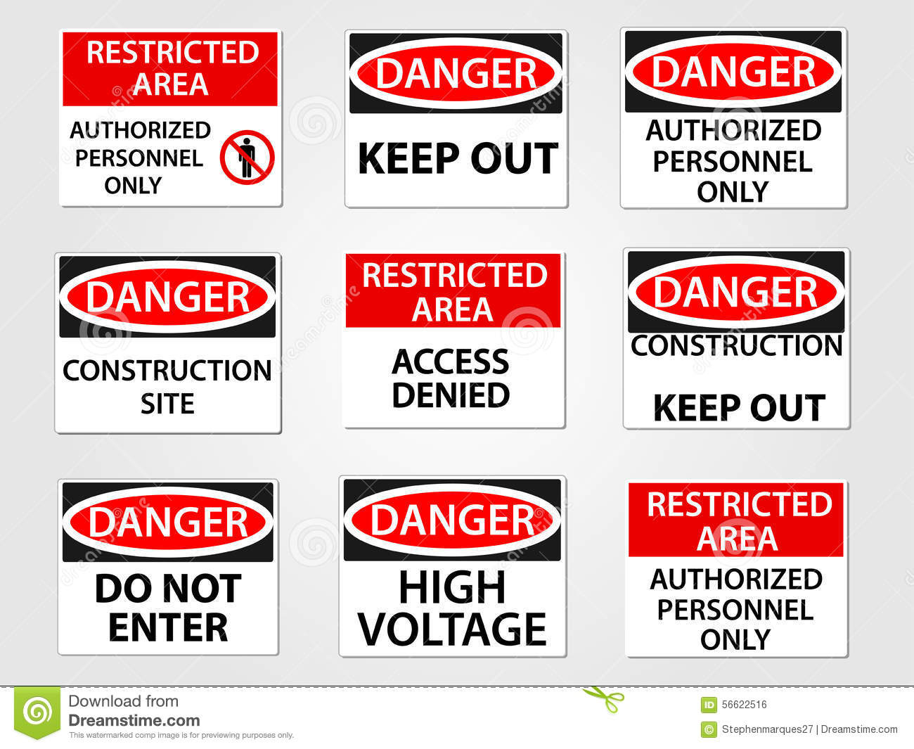 restricted area download free