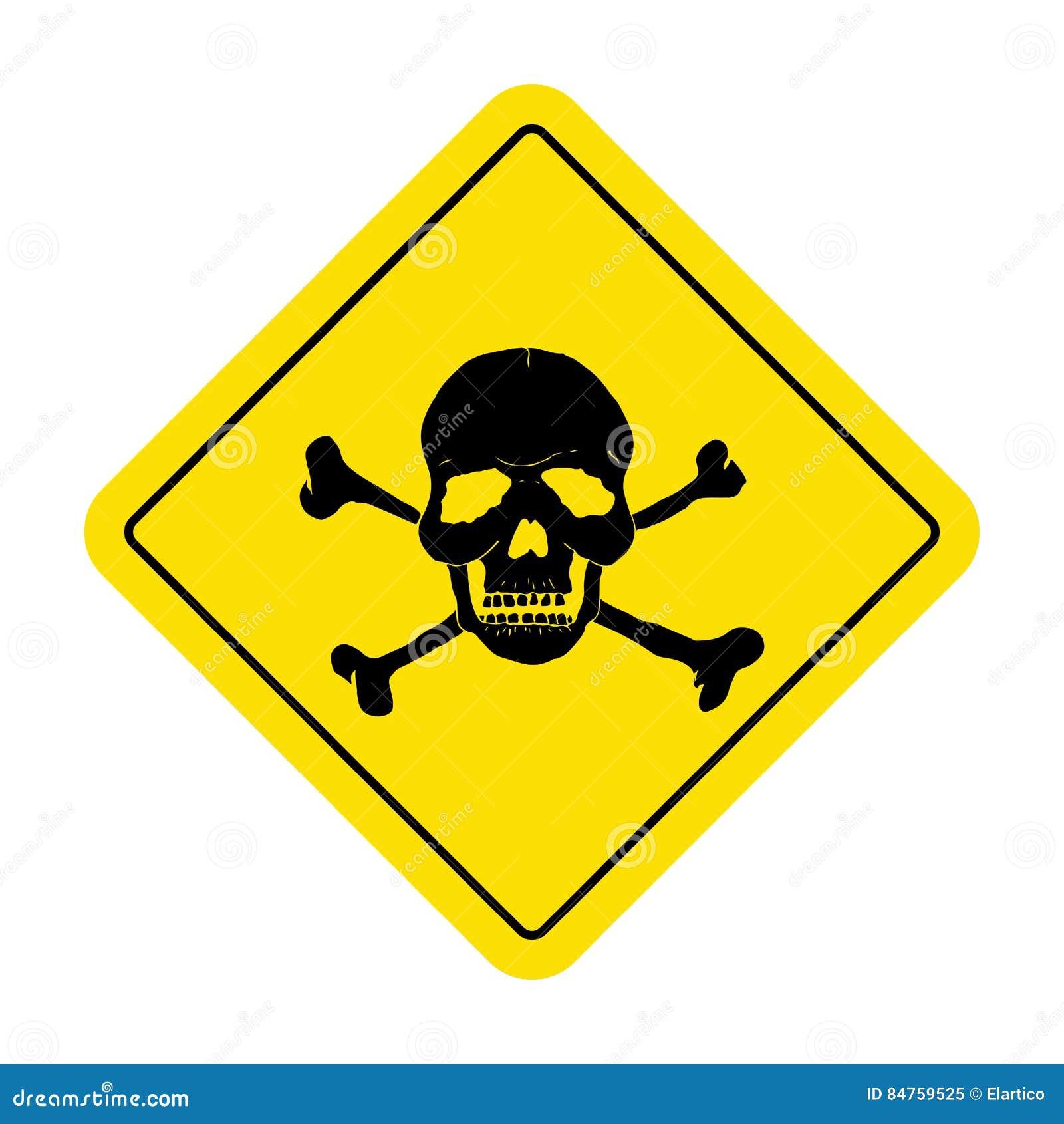 skull danger sign wwwpixsharkcom images galleries
