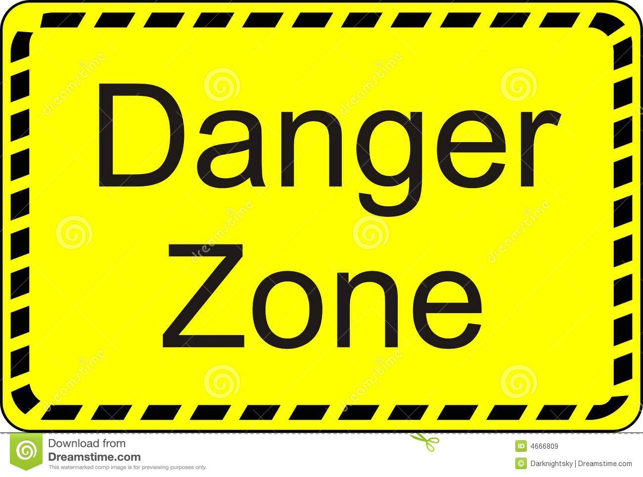 Danger Zone Royalty Free Stock Images - Image: 4666809 Under Construction Signs