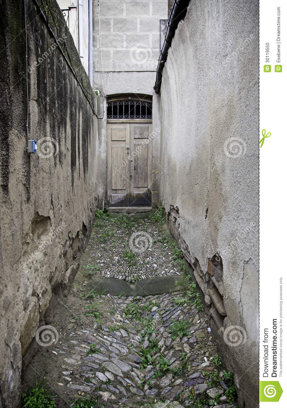 Dangerous Alley In The City Stock Photo Image 30119550