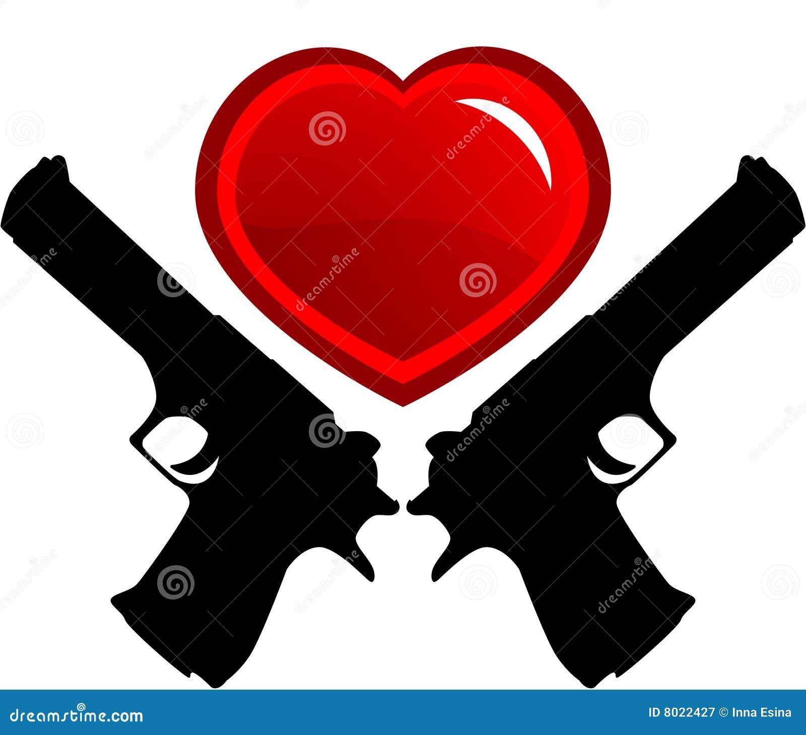 dangerous love stock vector. illustration of friendship - 8022427