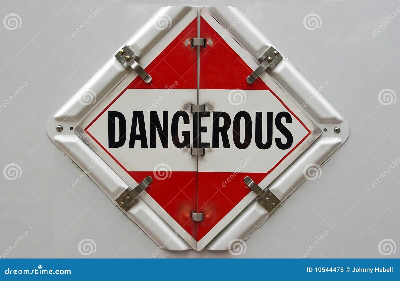 Dangerous Placard Royalty Free Stock Photo Image 10544475