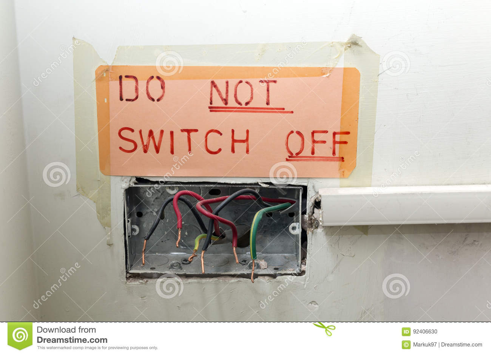 dangerous and poor quality electrical work stock photo Wiring Money Internationally Wells Fargo Wiring Money