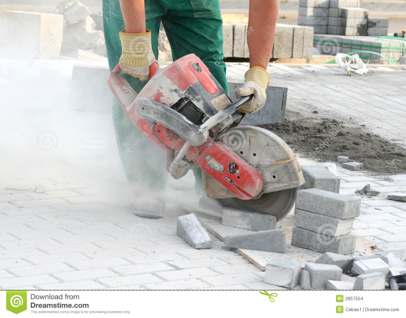 Dangerous Work Stock Images Image 2657554