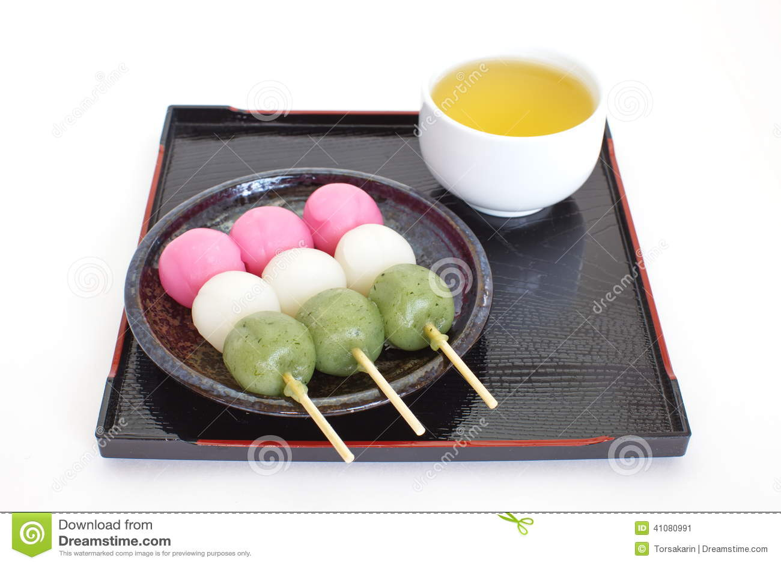 日本甜品大全_由米粉做的dango日本饺子和甜点.