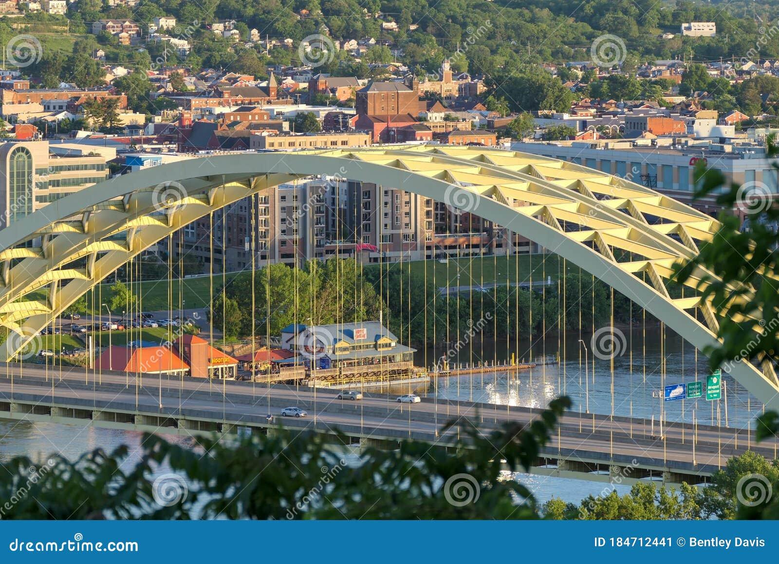 Daniel Beard Carter Bridge Cincinnati Ohio Stock Image ...