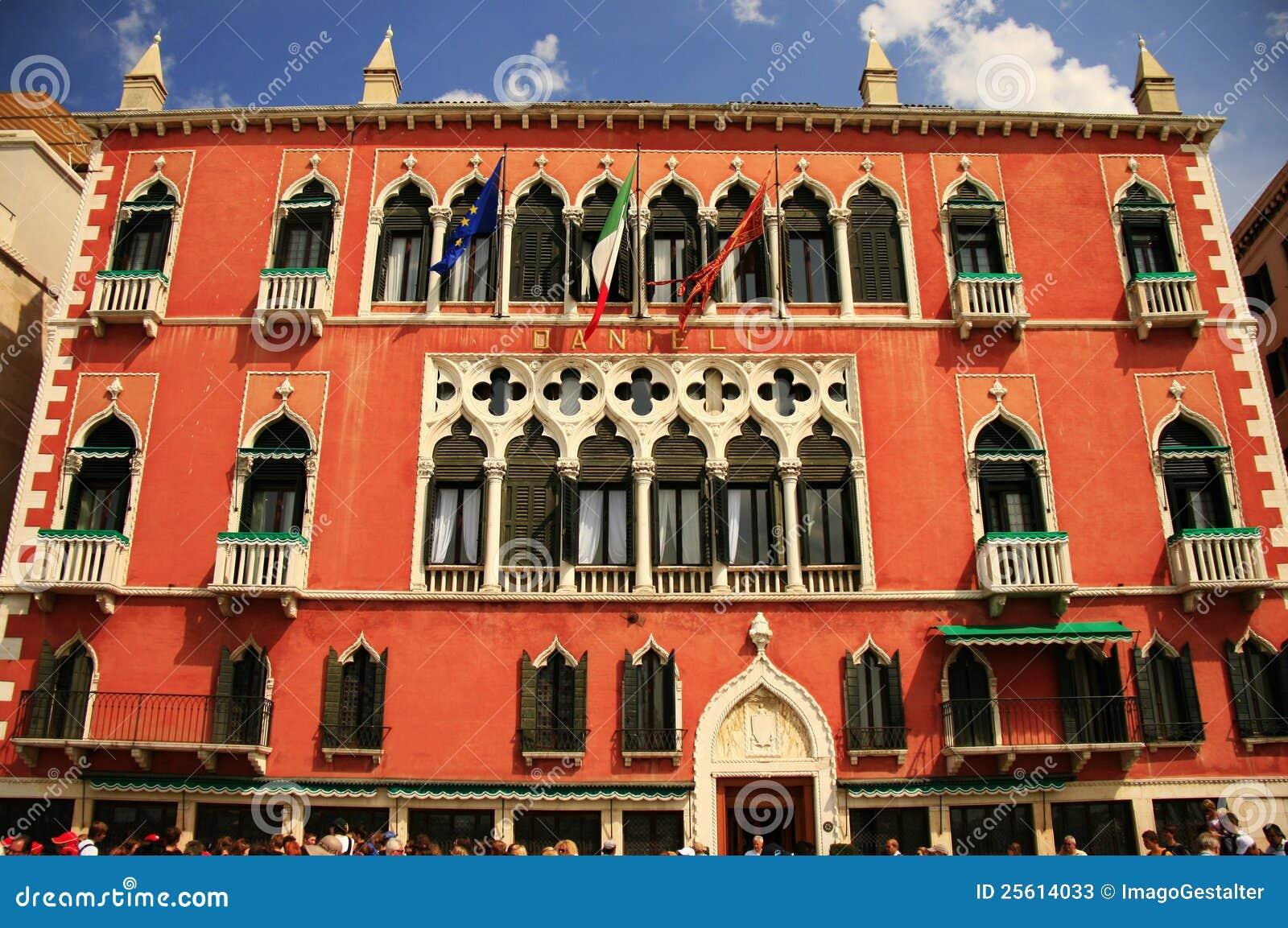 Danieli Hotel In Venice Italy Editorial Stock Photo Image