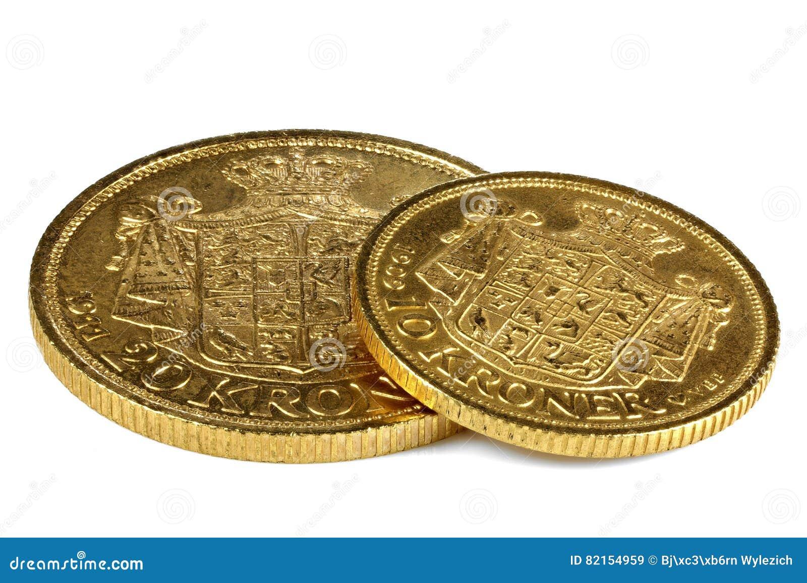 Danish gold coins