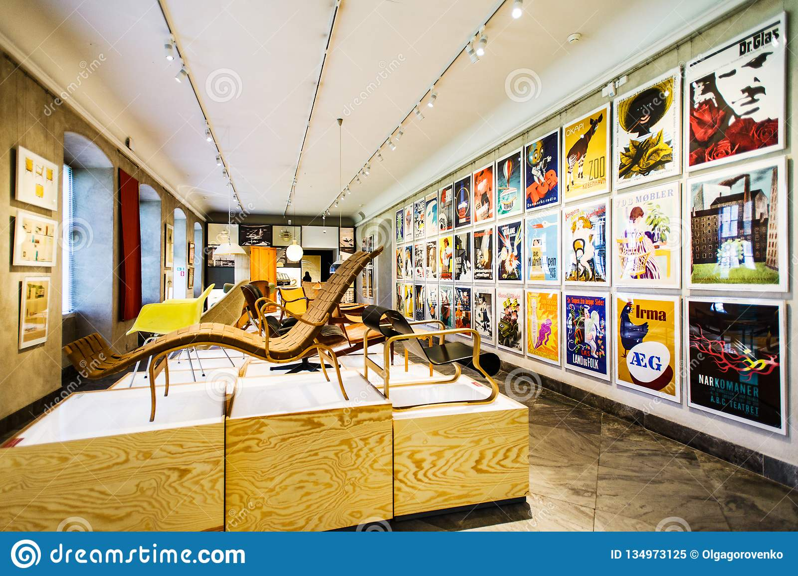 Danish Museum Of Art & Design With Works Of Famous Designers