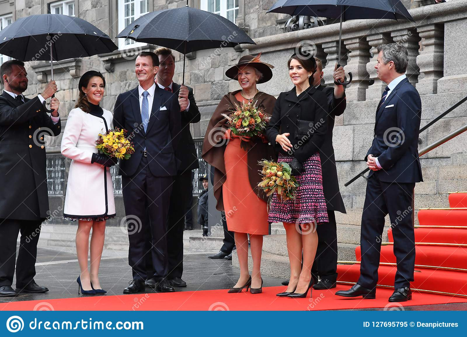 DANISH ROYAL FAMILY ARRIVES AT PARLIAMENT OPENING  Editorial Image