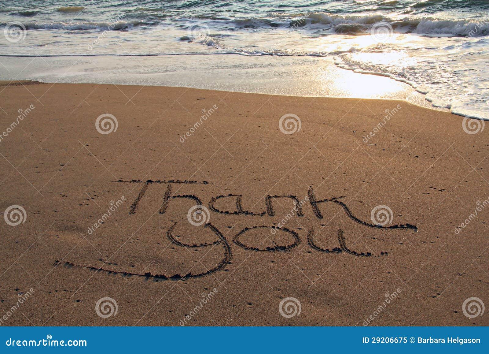 danke auf den strand zu setzen lizenzfreies stockfoto bild 29206675. Black Bedroom Furniture Sets. Home Design Ideas
