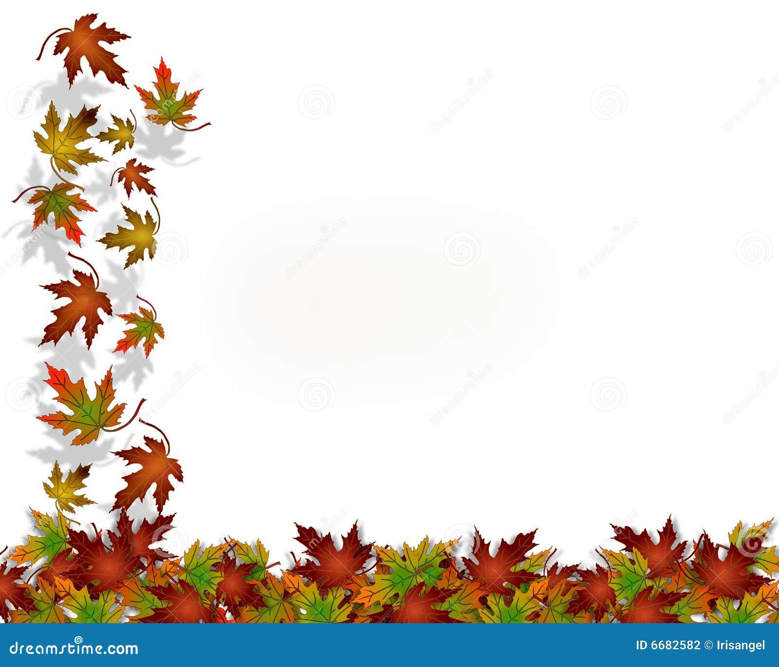 Danksagungs-Herbst-Fall-Blätter