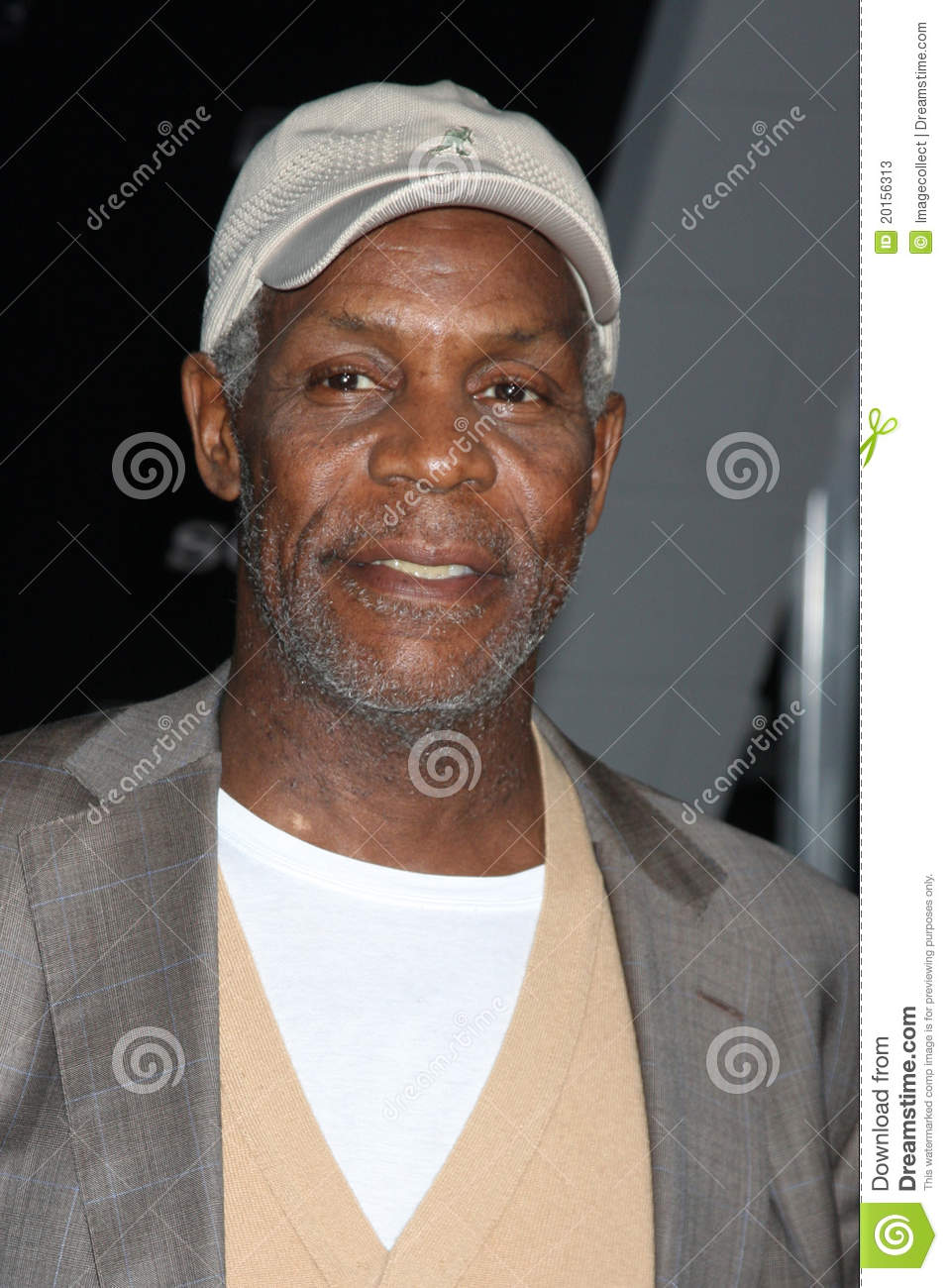 Danny Glover Arriving The Premiere Regal Theaters