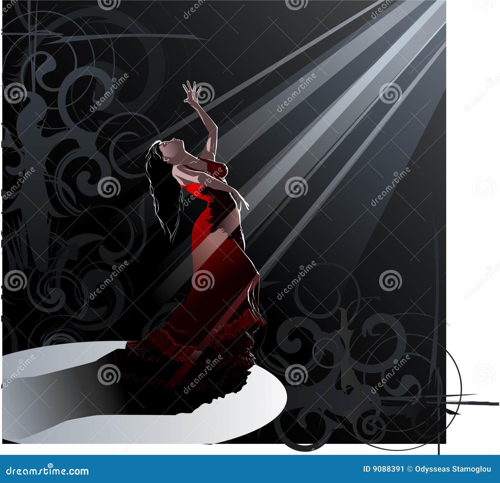 Dans - flamenco