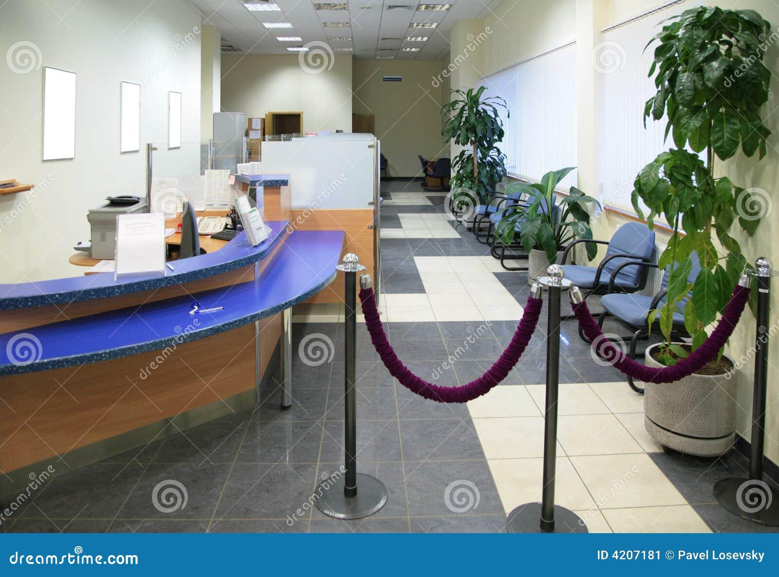 Dans le bureau de côté