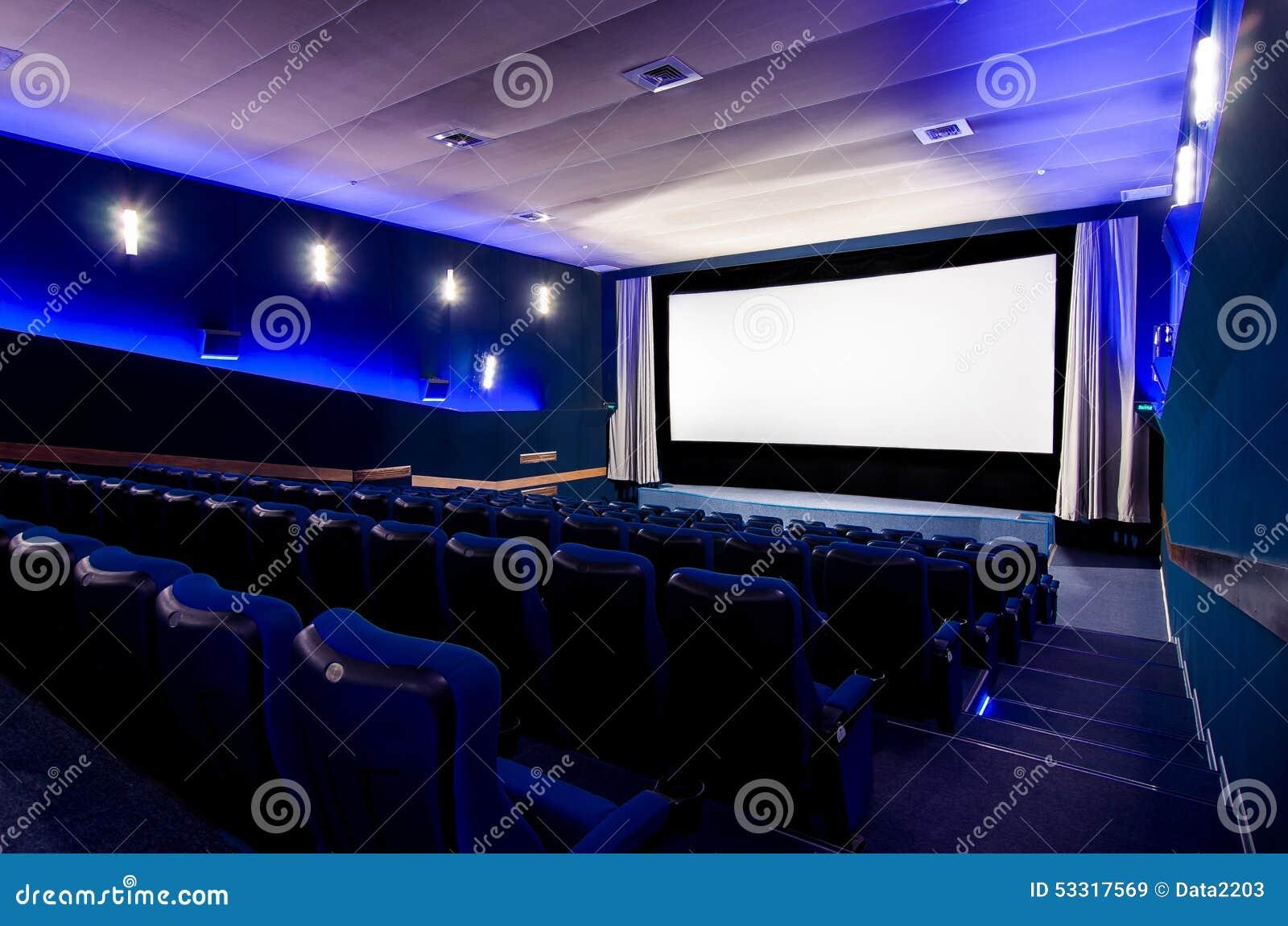 Dans le théâtre de cinéma
