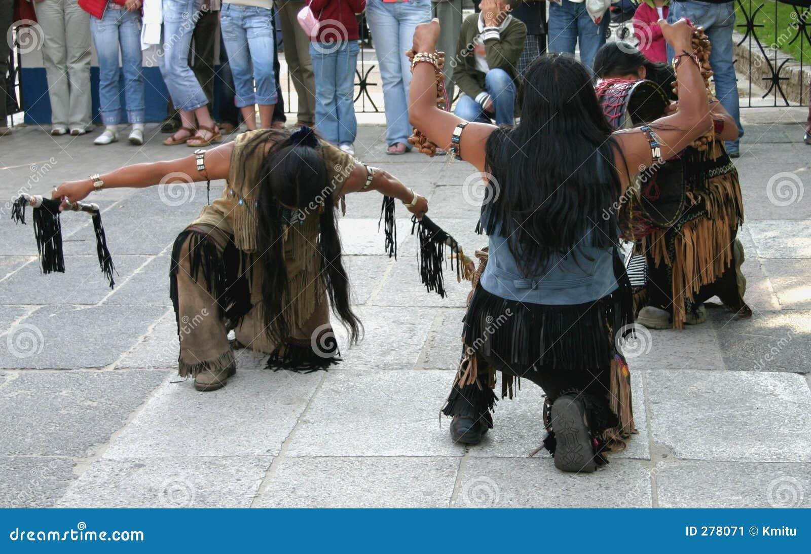 Dans som gör rituella indier