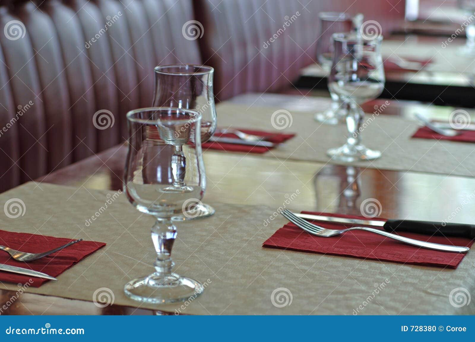 Dans un restaurant français