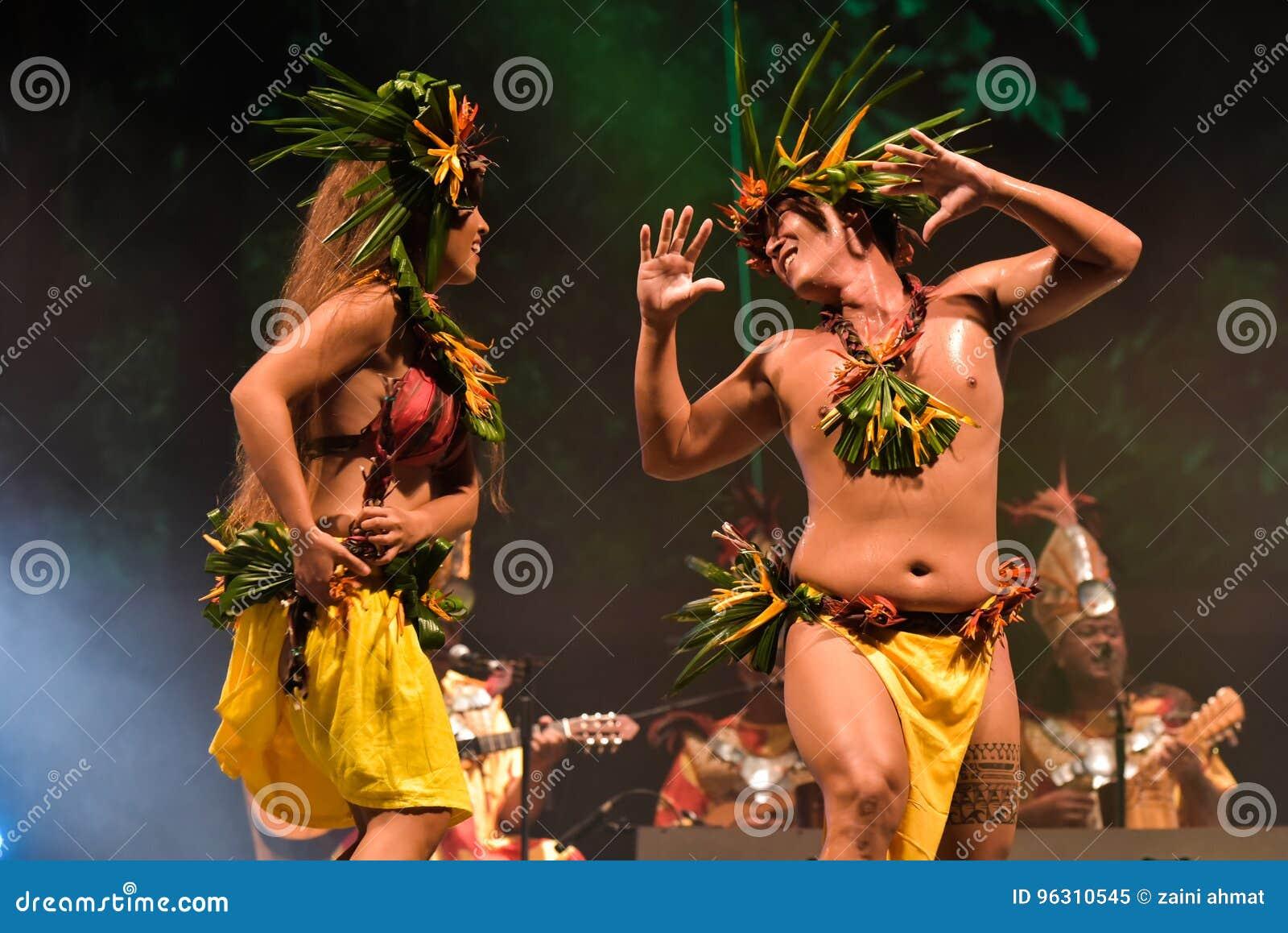Dansare från Haiti