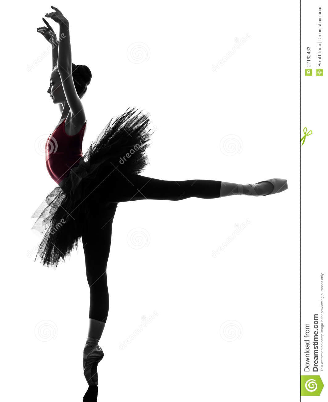 danse de danseur de ballet de ballerine de jeune femme image stock image 27162483. Black Bedroom Furniture Sets. Home Design Ideas
