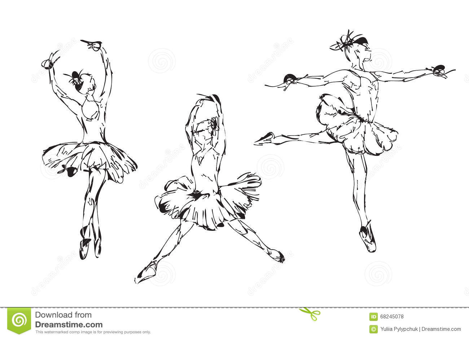 Danse tirée par la main de ballerine dans le tutu