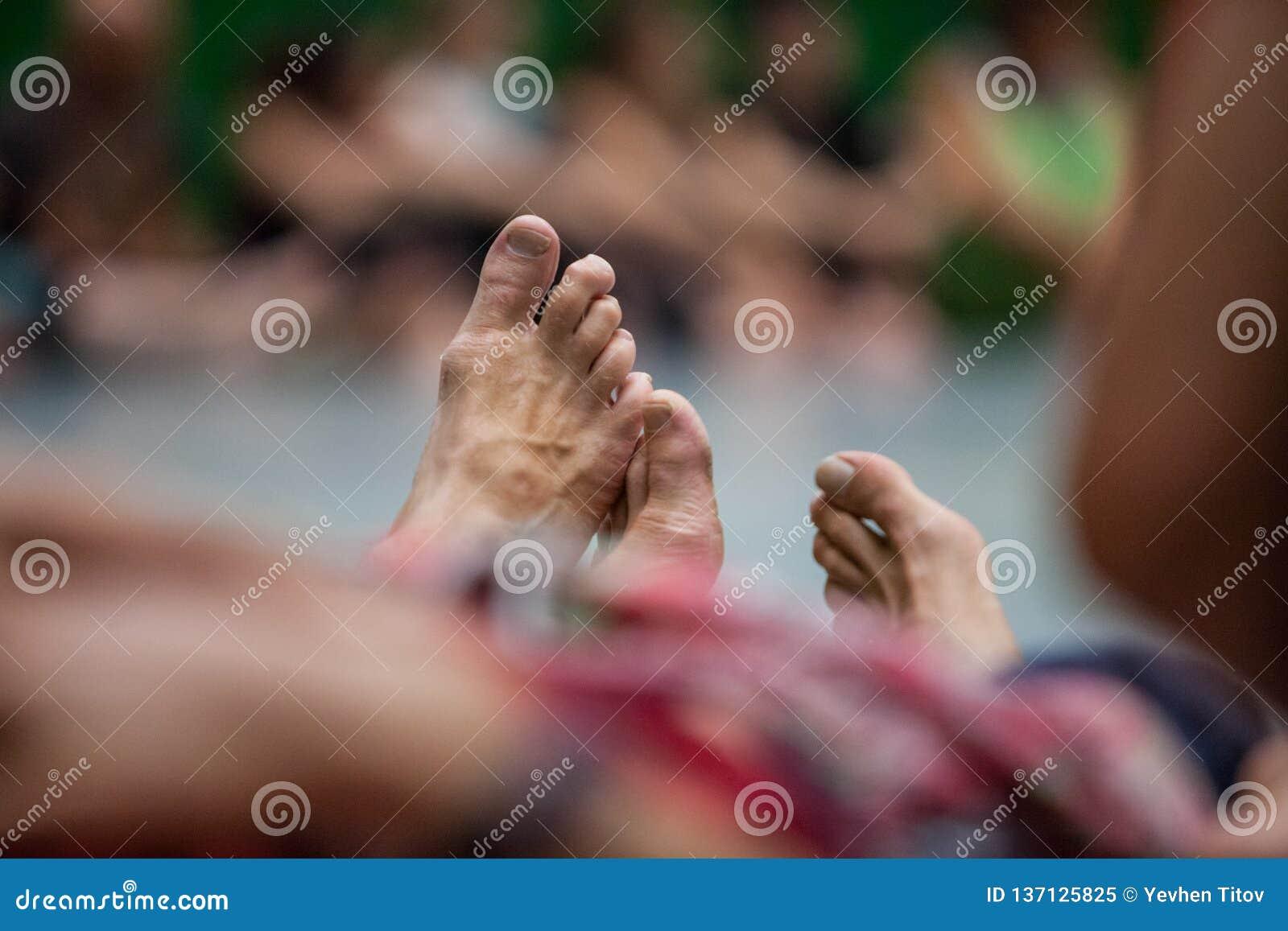 Dansersbeen, voet