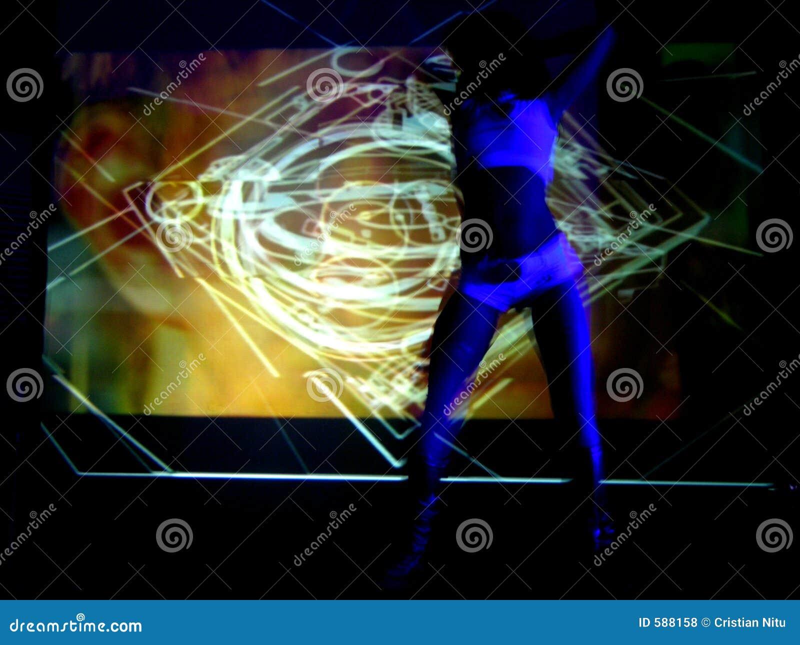 Danseur dans l action