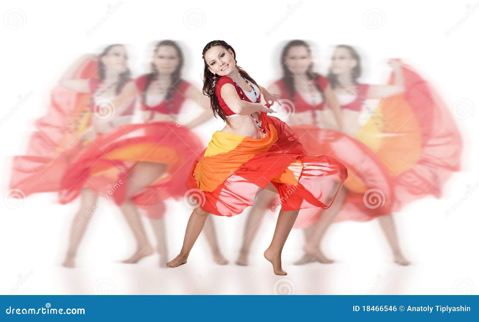 Danseur de groupe