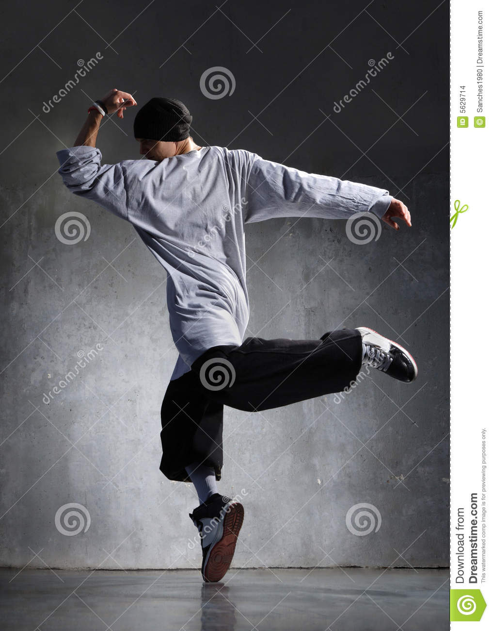 danseur de hip-hop photo stock  image du moderne  m u00e2le