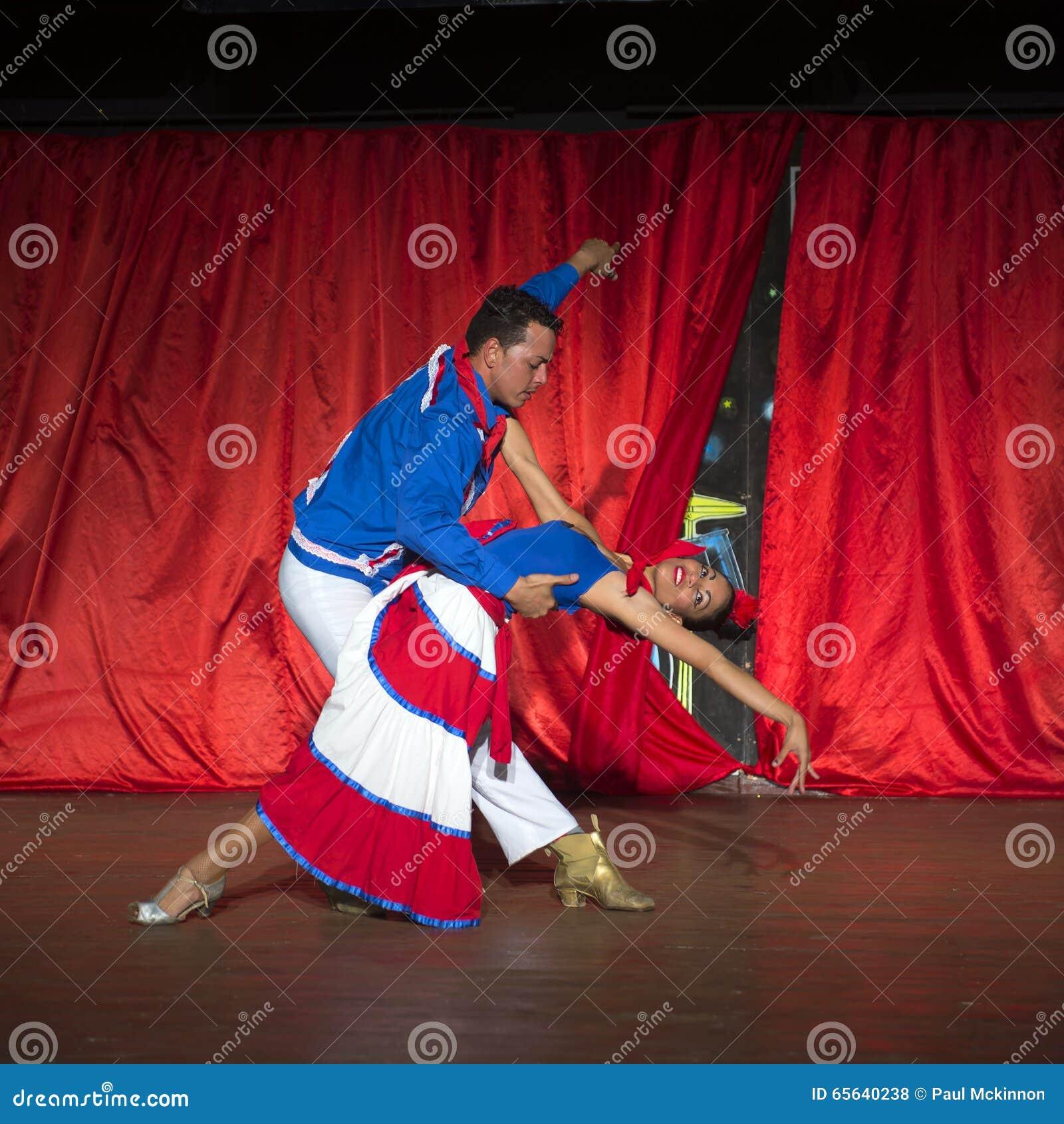 Danseurs cubains
