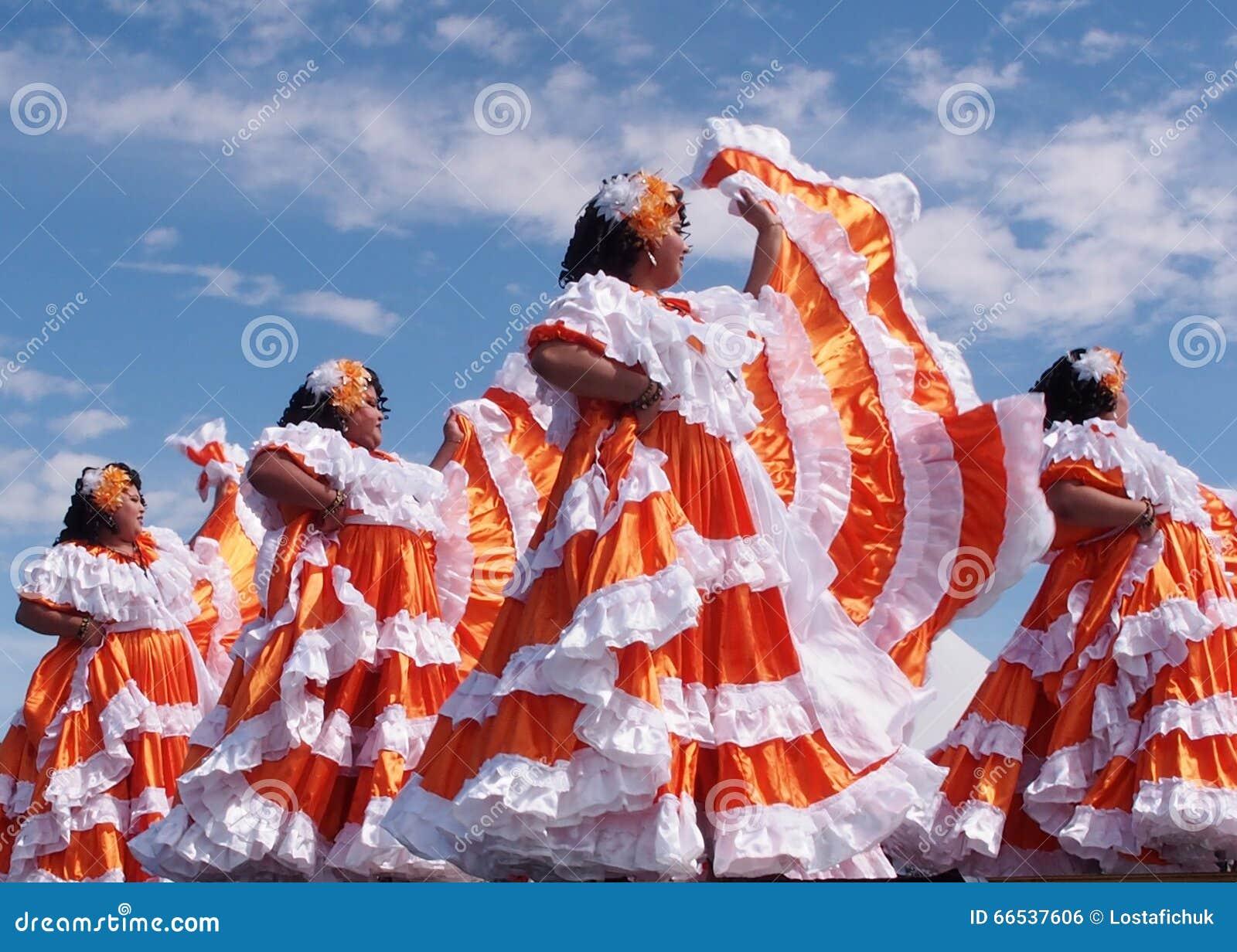 Danseurs folkloriques d Amérique centrale