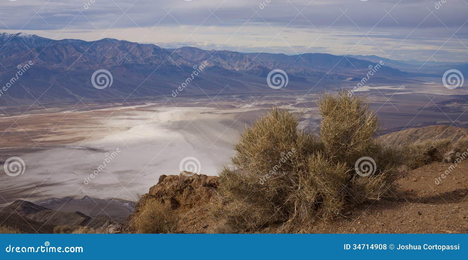 Dante szczyt, Śmiertelna dolina