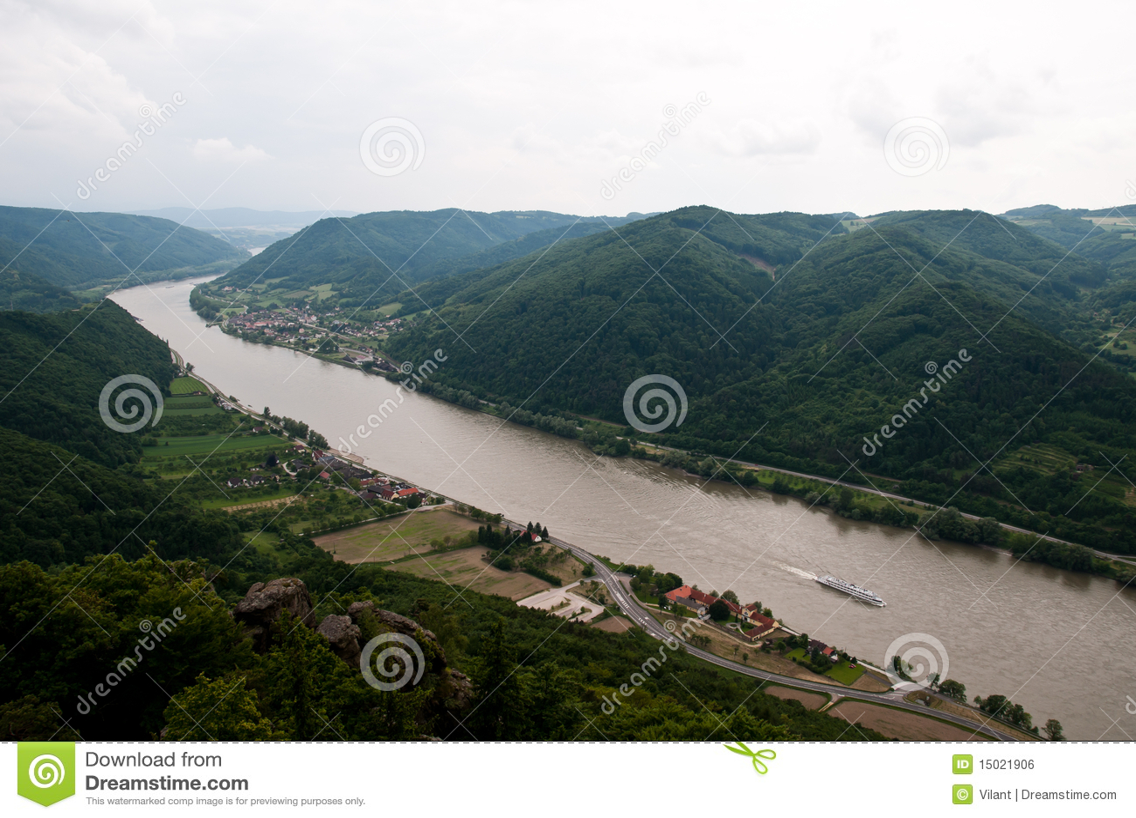 Danube Bend Royalty Free Stock Image Image 15021906