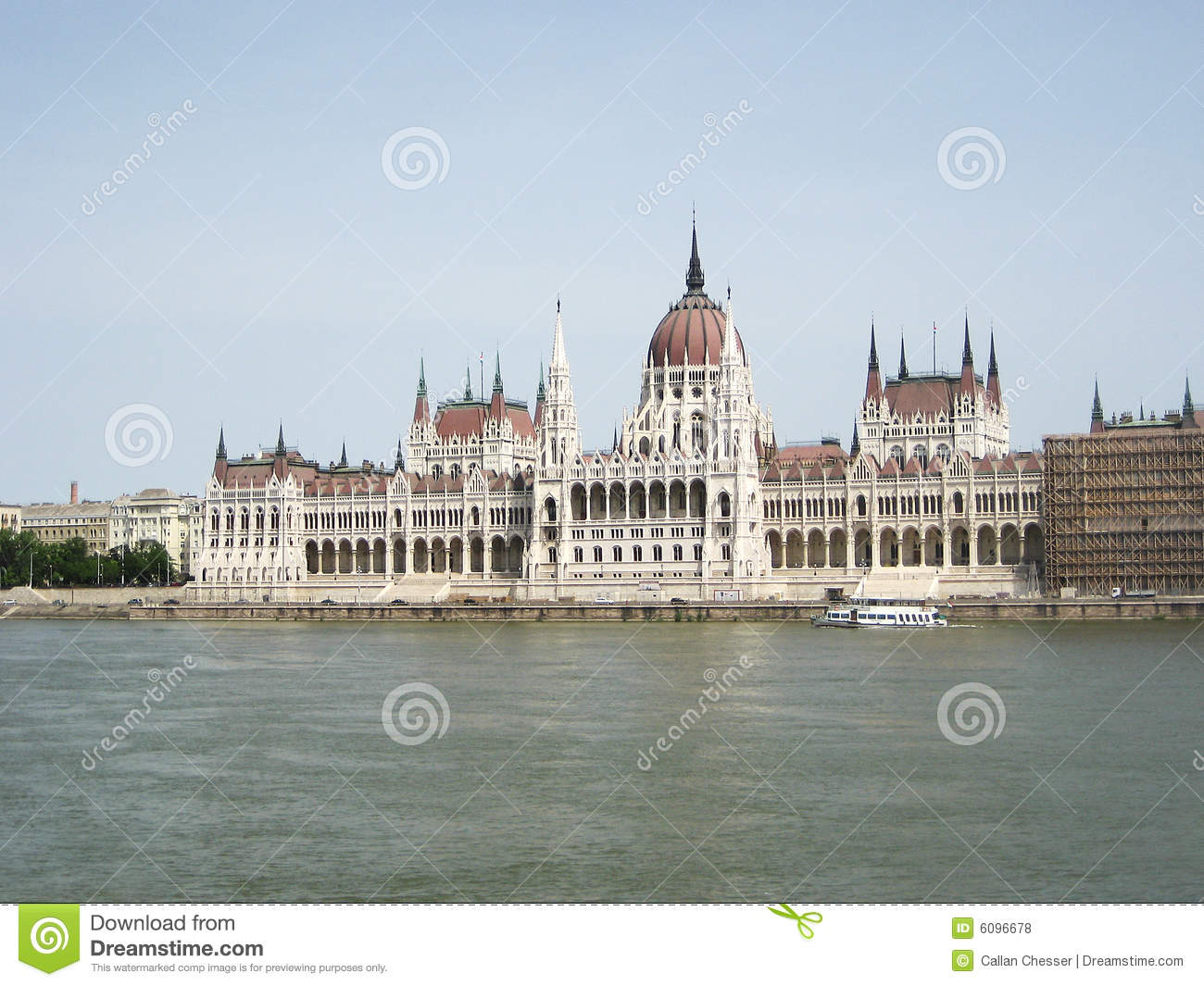 The Danube and Budapest Parliament