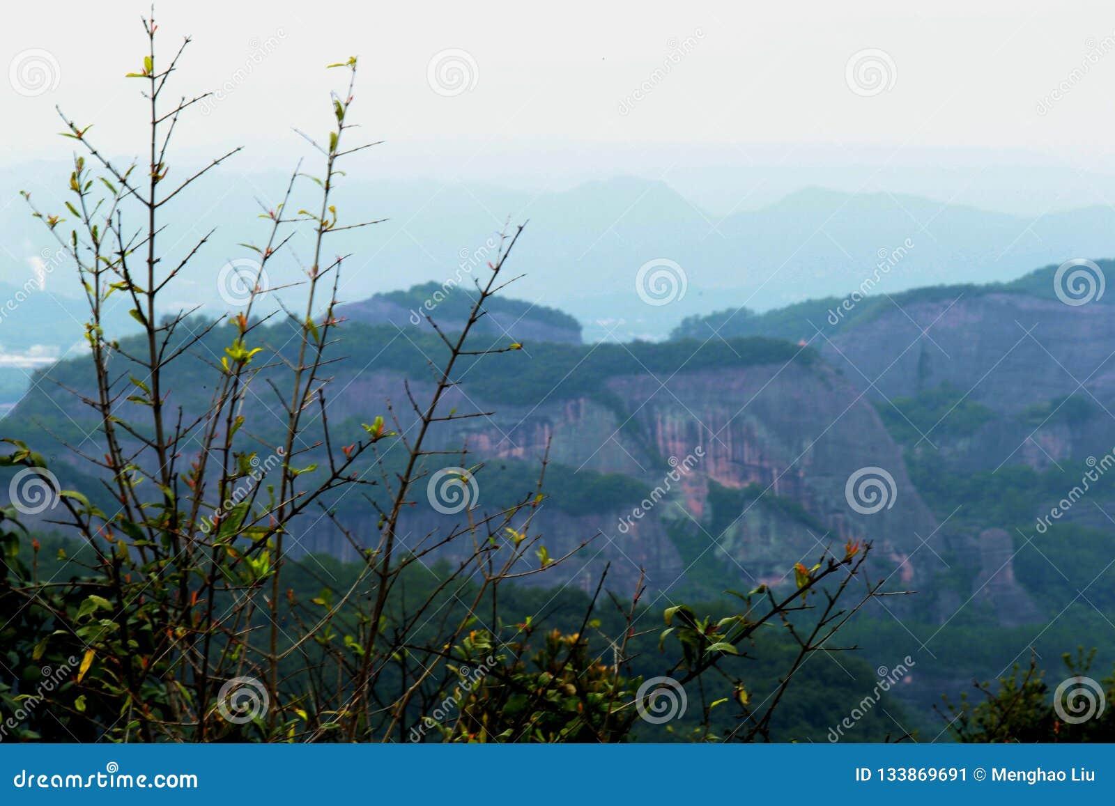 Danxia medborgare Geopark