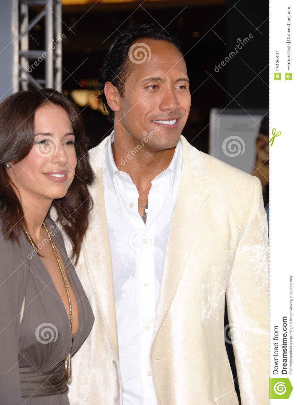Dwayne Johnson's Wife