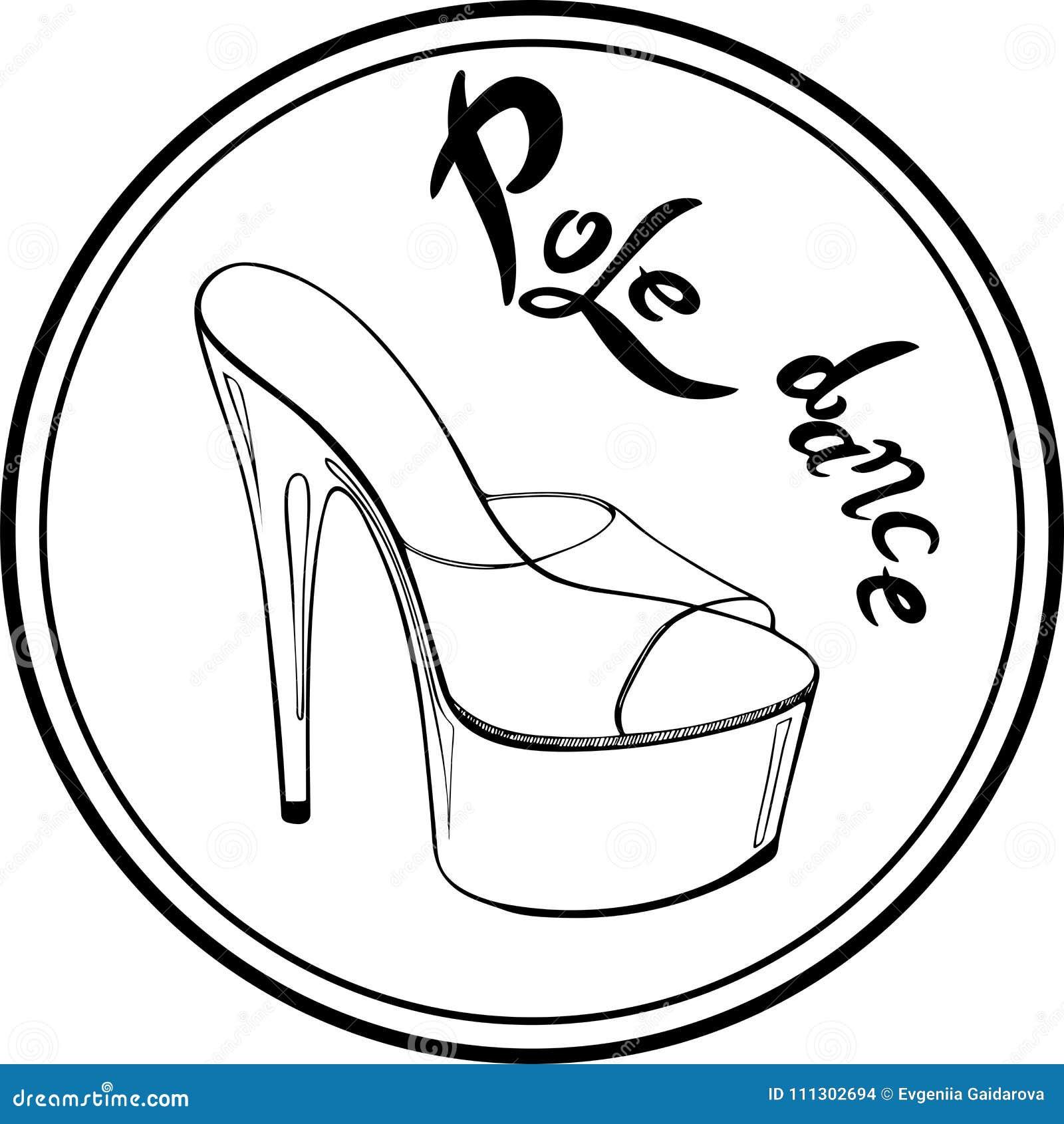 Con Logotipo Ilustración Danza Los Del Zapatos Polo Stock De CTSnwgxqzA