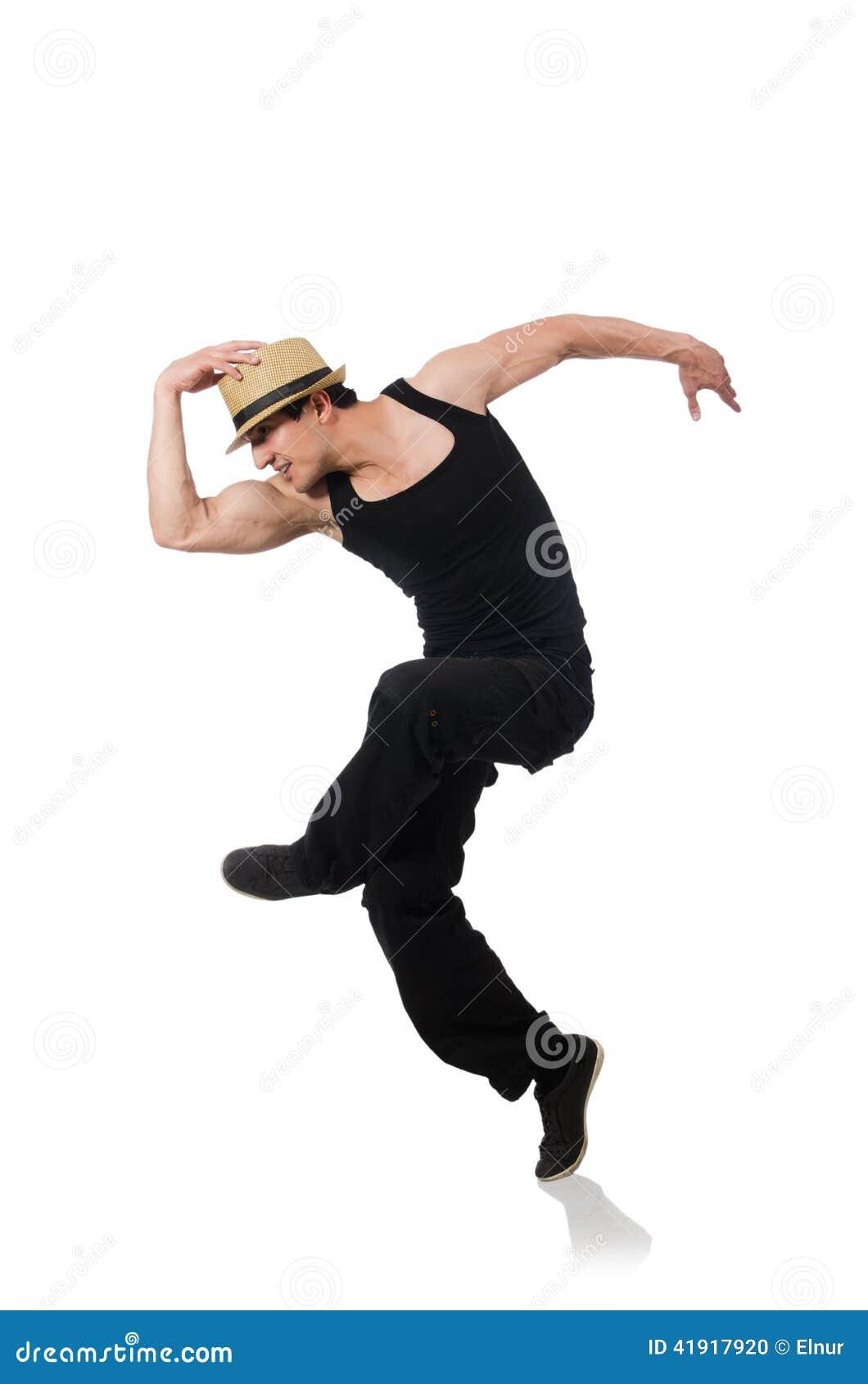 Danzas del baile del bailarín aisladas