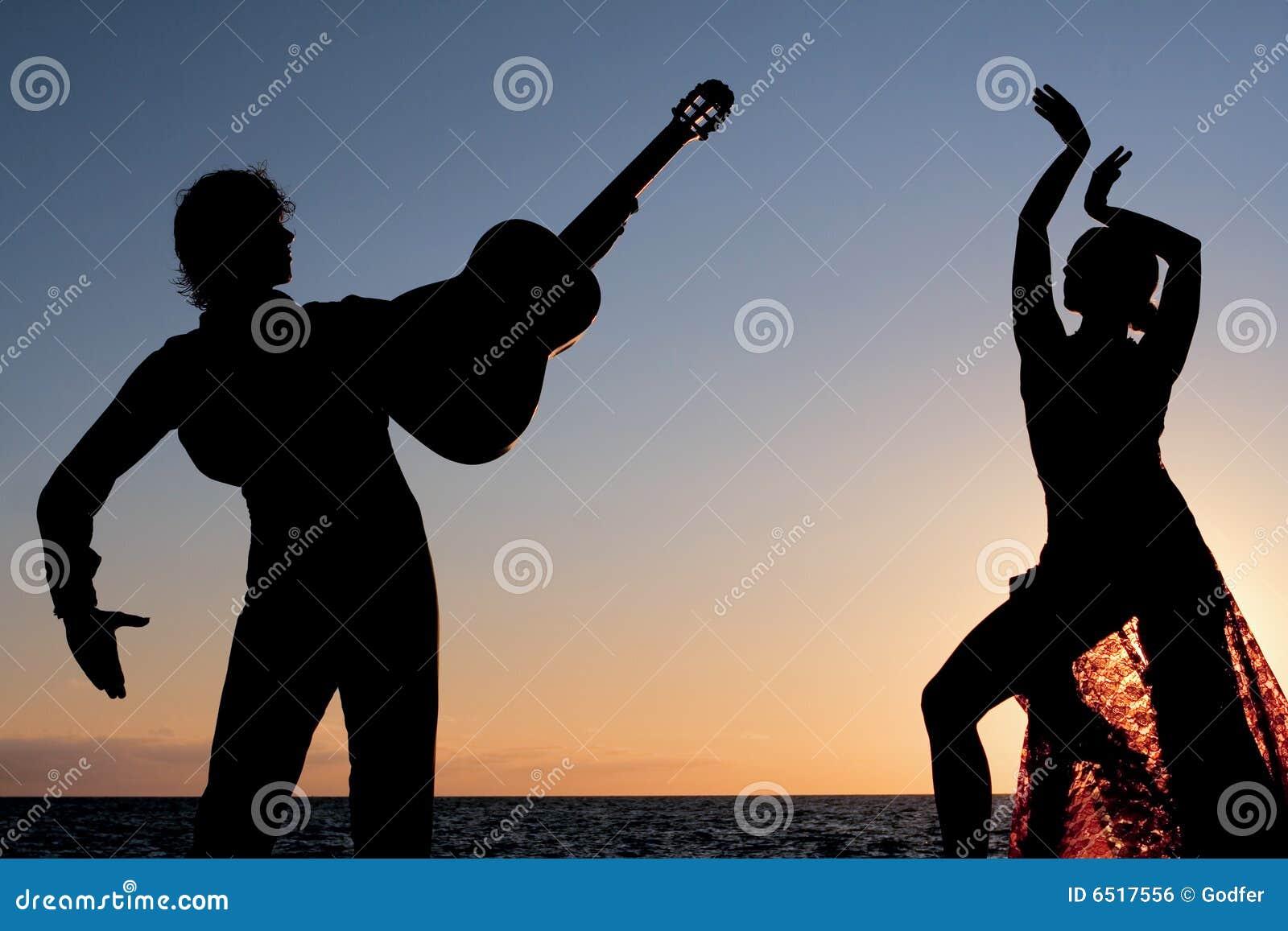 Danzatori spagnoli di flamenco della spagna